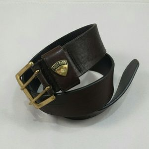 POST CARD Leather Belt